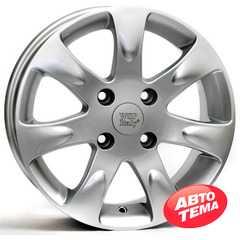 Купить WSP ITALY AIDA W3702 (SILVER - серебро) R15 W6 PCD4x108 ET52 DIA63.4