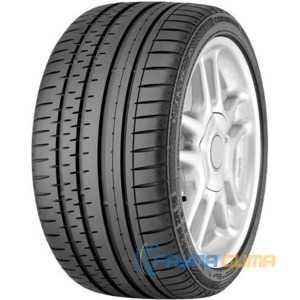 Купить Летняя шина CONTINENTAL ContiSportContact 2 205/55R16 91V