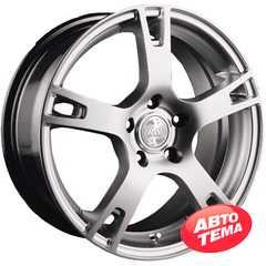 Купить RW (RACING WHEELS) H-335 BK-PBL/FP R18 W8 PCD5x114.3 ET45 DIA73.1