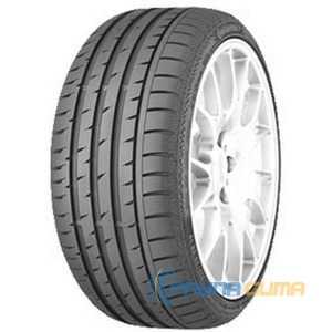 Купить Летняя шина CONTINENTAL ContiSportContact 3 245/50R18 100Y Run Flat