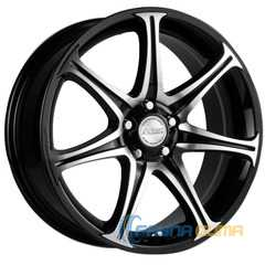 Купить RW (RACING WHEELS) H-134 BK-F/P R15 W6.5 PCD4x114.3 ET45 DIA67.1