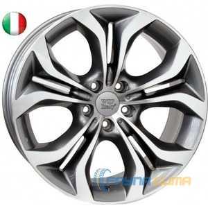Купить WSP ITALY AURA W674 ANTHRACITE POLISHED R20 W11 PCD5x120 ET37 DIA72.6