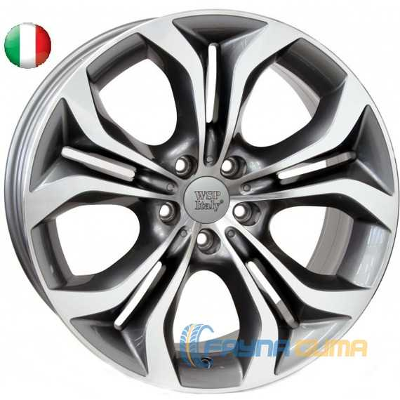 Купить WSP ITALY AURA W674 ANTHRACITE POLISHED R20 W11 PCD5x120 ET37 DIA74.1