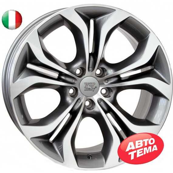 Купить WSP ITALY AURA W674 ANTHRACITE POLISHED R19 W9 PCD5x120 ET48 DIA74.1