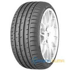 Купить Летняя шина CONTINENTAL ContiSportContact 3 235/40R18 91Y