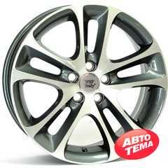 Купить WSP ITALY C30 NIGHT W1255 ANTHRACITE POLISHED R18 W7.5 PCD5x108 ET52.5 DIA65.1