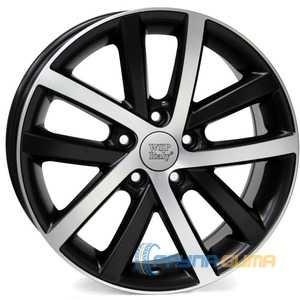 Купить WSP ITALY Rheia VO60 W460 DULL BLACK POLISHED R17 W7.5 PCD5x112 ET54 DIA57.1