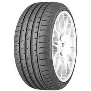 Купить Летняя шина CONTINENTAL ContiSportContact 3 245/45R18 96Y Run Flat
