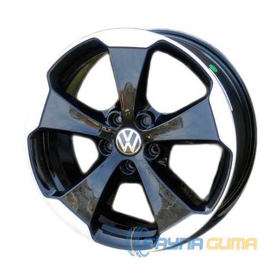 WSP ITALY W465 Laceno Glossy Black Polished -
