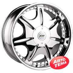 Купить FJB 318 Chrome R22 W9.5 PCD6x139.7 ET20 DIA108.1