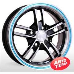Купить STORM BK319 BPBLuL R14 W6 PCD4x114.3 ET35 DIA67.1