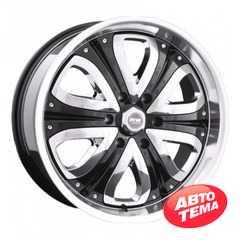 Купить RW (RACING WHEELS) H-383 BKCWP R20 W8.5 PCD6x139.7 ET15 DIA110.5/108.2