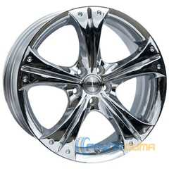 Купить RW (RACING WHEELS) H-253 Chrome R17 W7 PCD5x100 ET45 DIA73.1