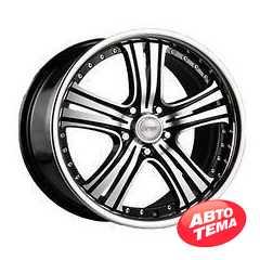 Купить RW (RACING WHEELS) H-434 BK/FP R20 W8.5 PCD5x112 ET45 DIA66.6