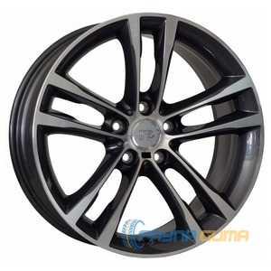Купить WSP ITALY ACHILLE W681 ANTHRACITE POLISHED R17 W7.5 PCD5x120 ET37 DIA72.6
