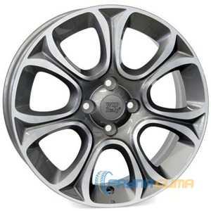 Купить WSP ITALY EVO W163 ANTHRACITE POLISHED R16 W6 PCD4x100 ET45 DIA56.6