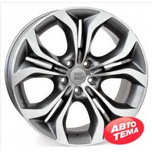 Купить WSP ITALY AURA W674 ANTHRACITE POLISHED R19 W9.5 PCD5x120 ET48 HUB72.6