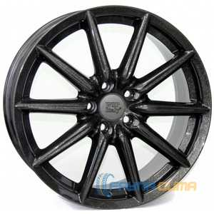 Купить WSP ITALY Cannes W251 (DIAMOND BLACK - Глянцевый черный) R18 W8 PCD5x110 ET41 HUB65.1