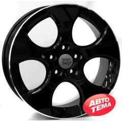 Купить WSP ITALY Ciprus W444 GLOSSY BLACK LIP POLISHED R17 W7 PCD5x112 ET42 HUB57.1