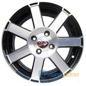 Купить DISLA HORNET 601 BD R16 W7 PCD5x114.3 ET38 DIA67.1