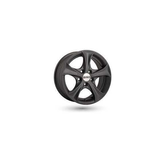 Купить DISLA Luxury 406 GM R14 W6 PCD4x100 ET37 DIA67.1