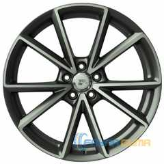 WSP ITALY AUDI AIACE AU12 ANTHRACITE POLISHED W569 -