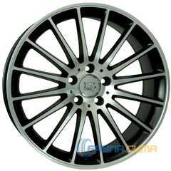 Купить WSP ITALY MERCEDES SHANGHAI ME12 DULL BLACK FULL POLISHED W773 R19 W9.5 PCD5x112 ET48 DIA66.6