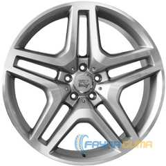 Купить WSP ITALY MERCEDES ISCHIA ME30 SILVER POLISHED W774 R20 W9.5 PCD5x130 ET50 DIA84.1