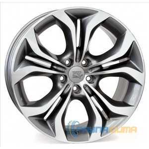 Купить WSP ITALY AURA W674 ANTHRACITE POLISHED R19 W9 PCD5x120 ET37 DIA74.1
