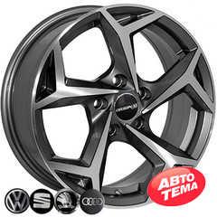 Купить Легковой диск ZW BK5340 GP R16 W6.5 PCD5x100 ET35 DIA57.1