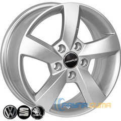 Купить Легковой диск ZF FR583 S R15 W6 PCD5x112 ET47 DIA57.1