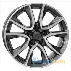 Купить WSP ITALY Gerda W2411 Anthracite Polished R17 W6.5 PCD5x114.3 ET45 DIA67.1