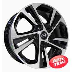 Купить Легковой диск REPLICA Huyndai HY141 BMF R16 W6.5 PCD5x114.3 ET50 DIA67.1