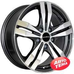 Купить Легковой диск REPLICA MITSUBISHI 348 MK-P R16 W6.5 PCD5x114.3 ET46 DIA67.1