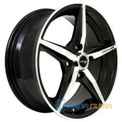 Купить Легковой диск PDW Nova Black Machine Face R18 W8 PCD5x114.3 ET40 DIA73.1