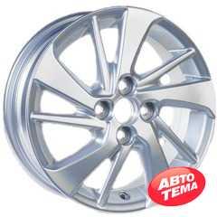 Легковой диск REPLICA GT 1057D Silver -