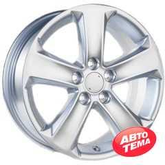 Купить Легковой диск REPLICA GT 5757D Silver R17 W7 PCD5x114.3 ET40 DIA60.1