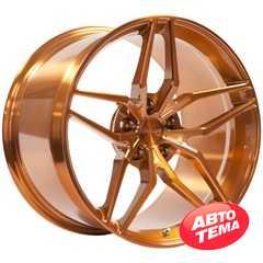 Купить Легковой диск VISSOL Forged F-928 GLOSS GOLD R19 W8.5 PCD5x100 ET45 DIA56.1