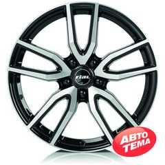 Купить Легковой диск RIAL Torino Diamond Black Front Polished R16 W6.5 PCD5x105 ET40 DIA56.6