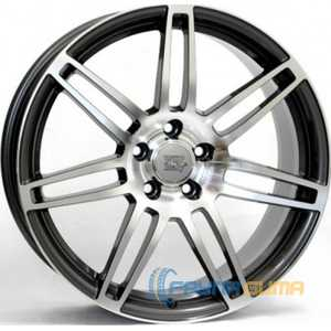 Купить WSP ITALY S8 Cosma Two W557 (Black Polished) R17 W7.5 PCD5x112 ET34 DIA57.1