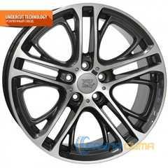 Легковой диск WSP ITALY X3 XENIA W677 BM20 DIAMOND BLACK POLISHED -