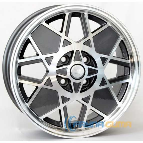 Легковой диск WSP ITALY 500 Sport Restyling W158 ANTHRACITE POLISHED -