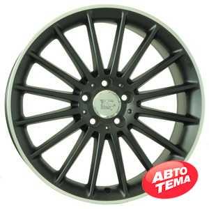 Купить WSP ITALY MERCEDES SHANGHAI ME12 DULL BLACK R POLISHED W773 R19 W8.5 PCD5x112 ET48 DIA66.6