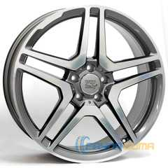 Купить WSP ITALY MERCEDES AMG ME12 ANTHRACITE POLISHED W759 R19 W8.5 PCD5x112 ET56 DIA66.6