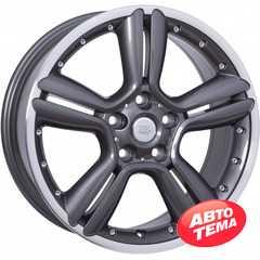 Купить Легковой диск WSP ITALY BIKINI W1656 ANTHRACITE POLISHED R18 W7.5 PCD5x120 ET52 DIA72.6