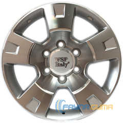 Купить Легковой диск WSP ITALY WSP ITALY NISSAN W1808 SALINA 4X4 NI08 SILVER POLISHED R16 W8 PCD6x139.7 ET10 DIA110.1