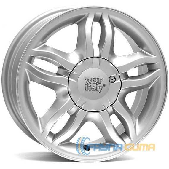Легковой диск WSP ITALY BORDEAUX W3301 SILVER -