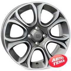 Купить WSP ITALY EVO W163 ANTHRACITE POLISHED R16 W6 PCD4x98 ET45 DIA58.1
