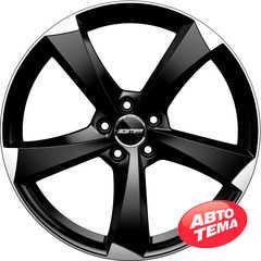 Купить Легковой диск GMP Italia ICAN Satin Black Diamond R17 W7.5 PCD5x100 ET35 DIA57.1
