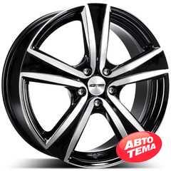 Купить Легковой диск GMP Italia ARGON Black Diamond R16 W6.5 PCD5x100 ET30 DIA73.1